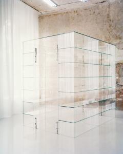 UV-limmat glaskonstruktion